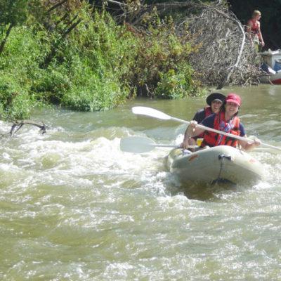river rafting breede overnight