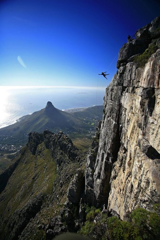 Abseil Table Mountain Cape Town