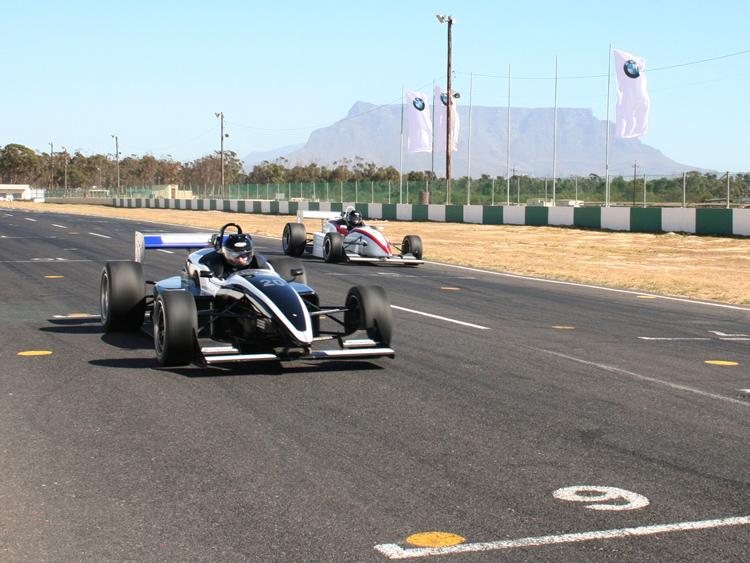 Reynard race car driving at Killarney
