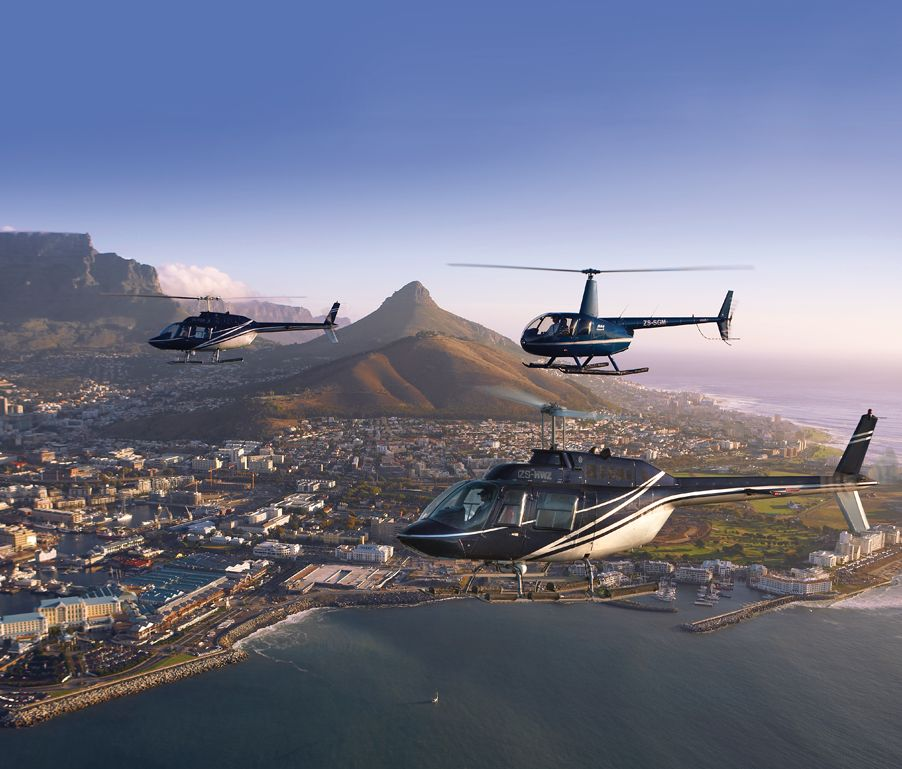 Helicopter tours cape town clifton beaches