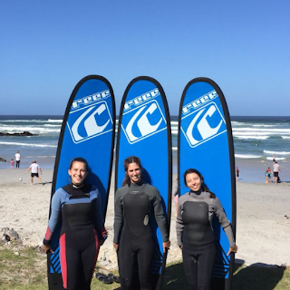 surf school hermanus learners taking surfing lessons