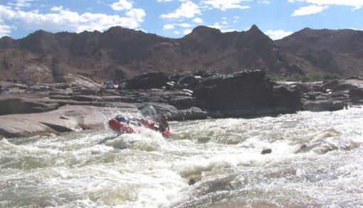 River Rafting on the Orange/Gariep River