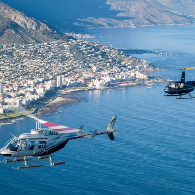 Helicopter tours Three Bays Cape Town