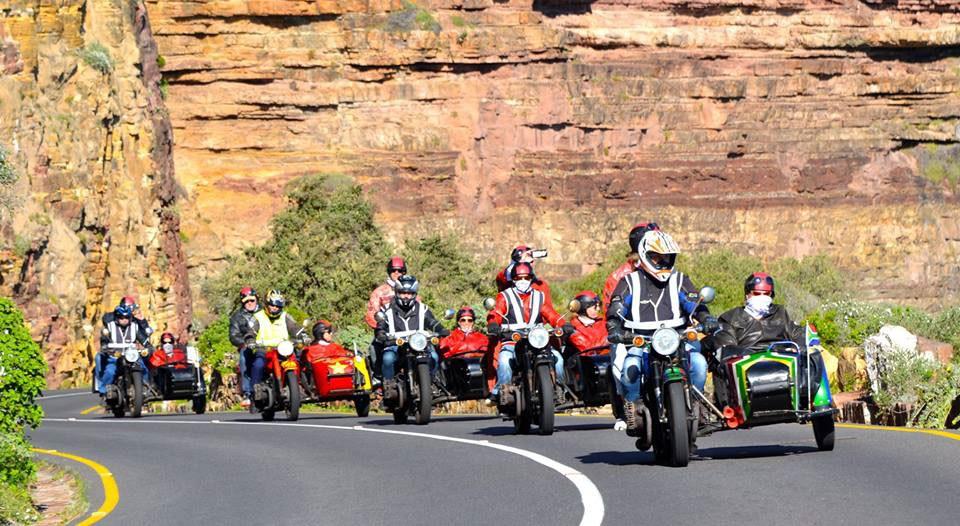 Sidecar motorcycles Atlantic Seaboard