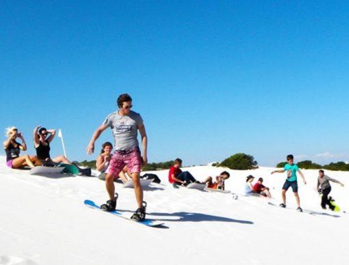 4x4 Sandboarding Atlantis Dunes